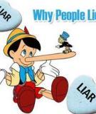 Dấu hiệu nhận biết những lời nói dối