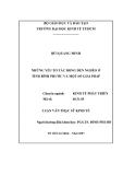 Luận văn: NHỮNG YẾU TỐ TÁC ĐỘNG ĐẾN NGHÈO Ở   TỈNH BÌNH PHƯỚC VÀ MỘT SỐ GIẢI PHÁP