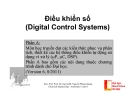 Cấu trúc hệ thống điều khiển số (Digital Control Systems)