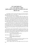 SUY NGHĨ THÊM VỀ CÁC CUỘC KHÁNG CHIẾN CHỐNG PHÁP XÂM LƯỢC Ở NAM KỲ NỬA SAU THẾ KỶ XIX