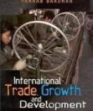 International trade, growth, and development