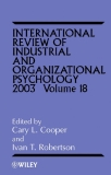 International Review of Industrial and Organizational Psychology 2003 Volume 18