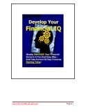 Develop Your Financial IQ