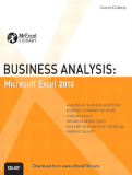 Business Analysis: Microsoft ® Excel 2010