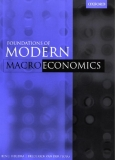 The F oundations of Mod ern Macroeconomics