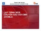 LẬP TRÌNH WEB CHUYÊN SÂU VỚI CMS JOOMLA_Bài 1