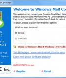 Cách chuyển từ Outlook Express sang Windows Mail