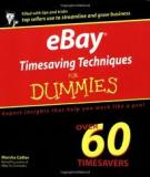 eBay® Timesaving Techniques FOR DUMmIES