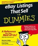 Listings That Sell FOR DUMmIES