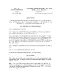 Quyết định số 166/QĐ-QLD