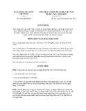 Quyết định số 1196/QĐ-NHNN