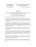 Quyết định số 2813/QĐ-UBND