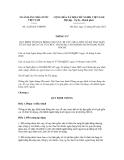 Thông tư số 21/2012/TT-NHNN