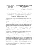 Quyết định số 224/QĐ-HQĐNg