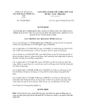 Quyết định số 158/QĐ-HQLC