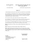 Thông tư số 16/2012/TT-BCT