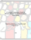 A Cultural Competence Guide for Primary Health Care Professionals in Nova Scotia