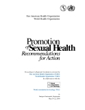 Promotion Sexual Health of Recommendations for Action