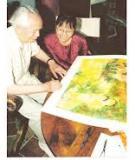Lần đầu tiên tại Việt Nam: tranh thạch bản của danh họa Vũ Cao Đàm
