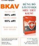Các thông báo lỗi thường gặp khi đăng ký sử dụng Bkav Pro