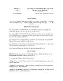 Quyết định số 649/QĐ-BNV