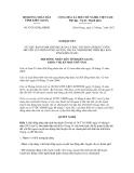 Nghị quyết số 67/2012/NQ-HĐND