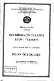 Quy trình kiểm tra chất lượng trạm BTS