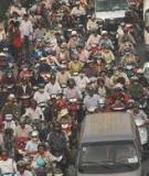 Nghiên cứu vấn nạn kẹt xe ở quận Bình Thạnh và hậu quả môi trường