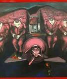 Nghệ sĩ chôn máy bay xuống đất và gọi đó là nghệ thuật
