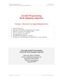 Lập trình Joomla! 1.5-Chương 1: Phân tích & xây dựng hệ thống Back-End