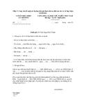 Mẫu 3: Công văn đề nghị xét hưởng đơn giá thuê nhà ưu đãi của các cơ sở thực hiện xã hội hóa