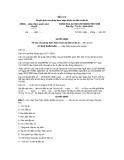 Mẫu số 2 Quyết định cho phép thực hiện chuẩn bị đầu tư dự án UBND….(Cấp thẩm quyền phê duyệt)