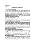 Giải bài tập Tài chính chương 1