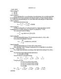 Giải bài tập tài chính doanh nghiệp chương 3 - Nhóm 1