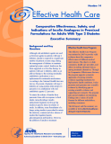 Comparative Effectiveness, Safety, and Indications of Insulin Analogues in Premixed Formulations for Adults With Type 2 Diabetes Executive Summary