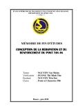 MÉMOIRE DE FIN D'ÉTUDES: CONCEPTION DE LA RERAPATION ET DU RENFORCEMENT DU PONT TAN AN