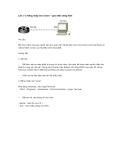 Đăng nhập vào router – giao diện dòng lệnh