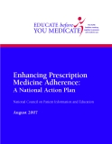Enhancing Prescription Medicine Adherence: A National Action Plan