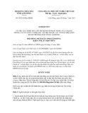 Nghị quyết số 50/2012/NQ-HĐND