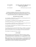 Quyết định số 1681/QĐ-BTC