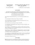 Quyết định số 981/2012/QĐ-UBND