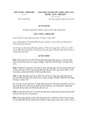 Quyết định số 812/QĐ-TTg