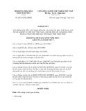 Nghị quyết số 64/2012/NQ-HĐND
