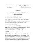 Quyết định số 958/QĐ-TTg