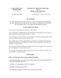 Quyết định số 2104/QĐ-UBND