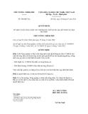 Quyết định số  960/QĐ-TTg
