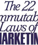 22 quy luật Marketing [P3]