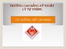 TÀI LIỆU TƯ TƯỞNG HỒ CHÍ MINH VỀ ĐẠI ĐOÀN KẾT DÂN TỘC VÀ ĐOÀN KẾT QUỐC TẾ