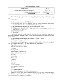 TIÊU CHUẨN NHÀ NƯỚC 2677 – 78:Nước uống Phương pháp xác định hàm lượng bạc