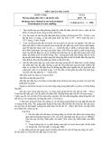 TIÊU CHUẨN NHÀ NƯỚC 2679 – 78:Nước uống Phương pháp phân tích vi khuẩn lấy mẫu